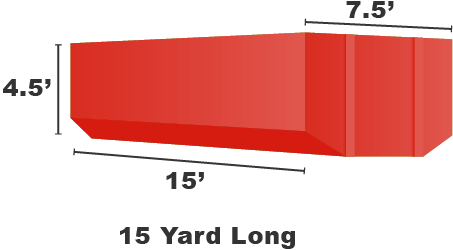 Image of dumpster: 15YD Long Roll-Off
